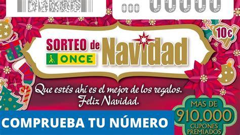 Sorteo Navidad ONCE: Comprueba los números premiados del ...
