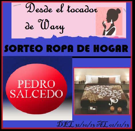SORTEO ROPA DE HOGAR PEDRO SALCEDO (vale de 60€) - Paperblog