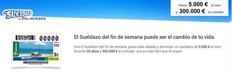 Sorteos Once 2016: Sueldazo y Superonce a examen