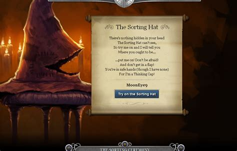 sorting hat quiz   Clipground