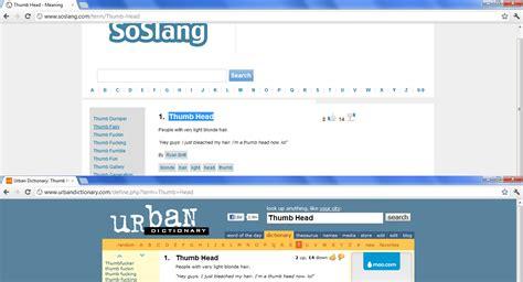 SoSlang - Slang Definitions (A Copy Of The Urban Dictionary)