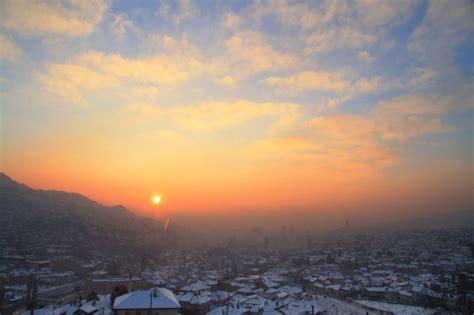 source.ba   Sarajevo kao iz bajke: Zalazak Sunca nad ...
