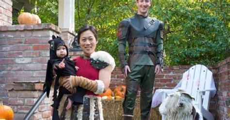 SoWomen: Mark Zuckerberg & Family for Halloween