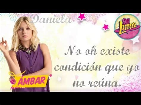 Soy Luna  Canción: Mírame ami  Ámbar  Valentina Zeneré ...
