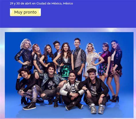 Soy Luna, Concierto en México 2017 | Soylunadisney.com
