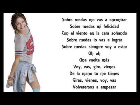 Soy Luna - Luna (Sobre Ruedas) Letra - YouTube