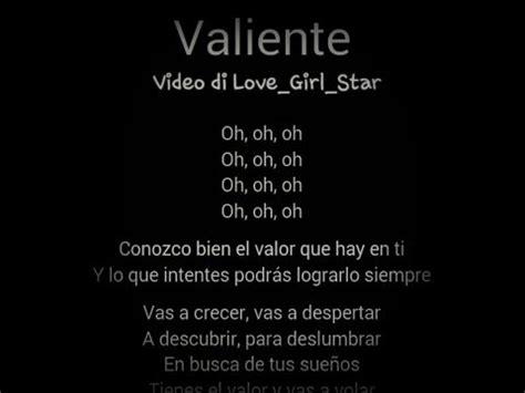 Soy Luna Valiente Lyrics   YouTube