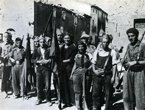 Spain - 1936. - GC - Madrid - Los milicianos llegan a los ...