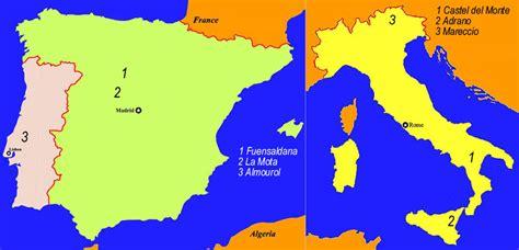 SPAIN AND PORTUGAL MAP - Imsa Kolese