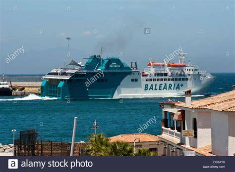 Spain Balearia Ferry Stockfotos & Spain Balearia Ferry ...