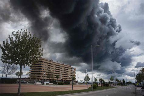 SPAIN FIRE POLLUTION ENVIRONMENT