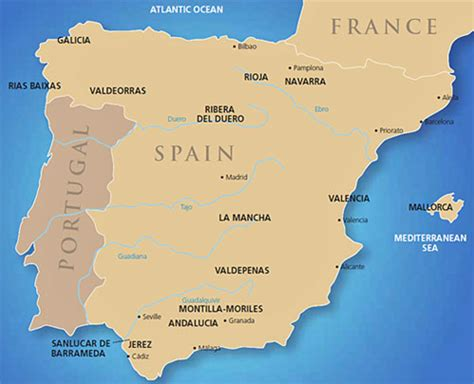 Spain wine guide   Wine regions   Guides   Wine World & News