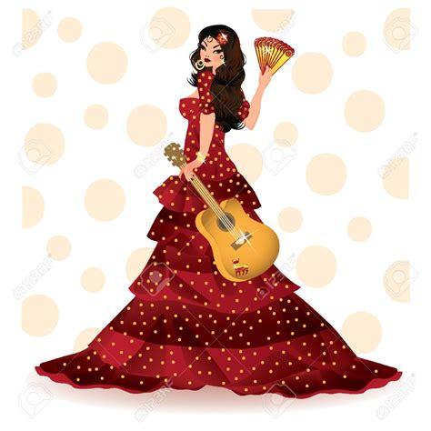 Spanish Flamenco Clipart (72+)