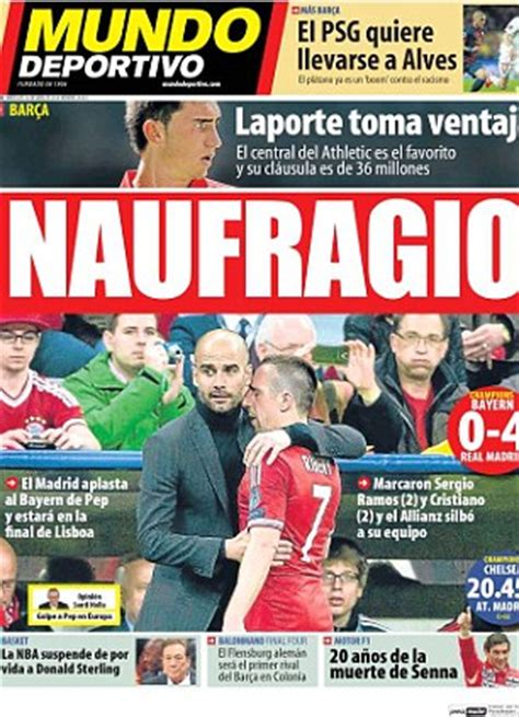 Spanish newspapers hail brilliant Real after they ...