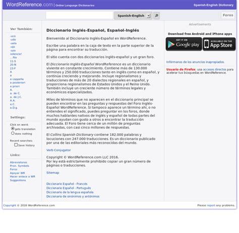 spanish translation wordreference - DriverLayer Search Engine