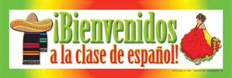 SPANISH WELCOME SIGN Carlex Online.com