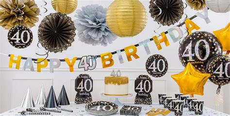 Sparkling Celebration 40th Birthday Party Supplies   Party ...