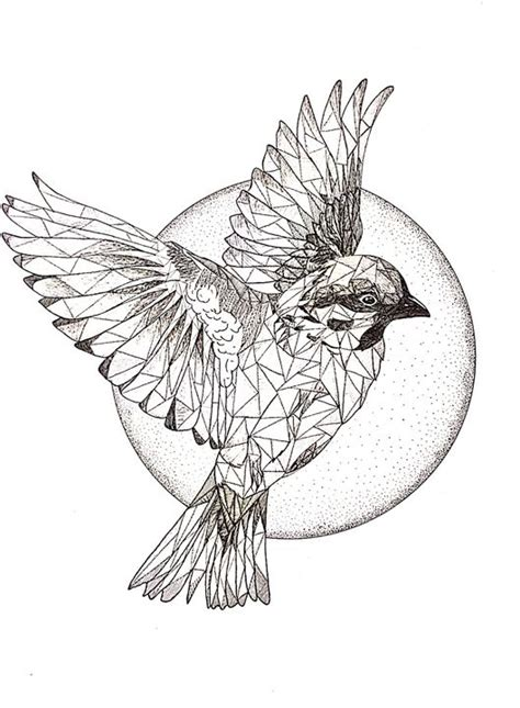 Sparrows Flying Drawing | www.pixshark.com - Images ...