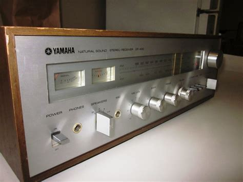 Speakerholic: Yamaha CR 400 Receiver