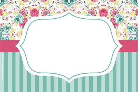 Special Shabby Chic for Sweet 16: Free Printable Mini Kit ...