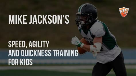 Speed, Agility and Quickness Training for Kids by Mike ...