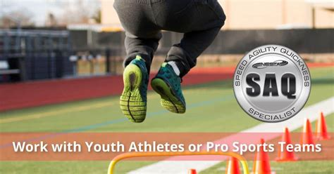 Speed, Agility & Quickness Coach Certification | NESTA