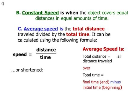 Speed and Velocity Speed and Velocity   ppt video online ...