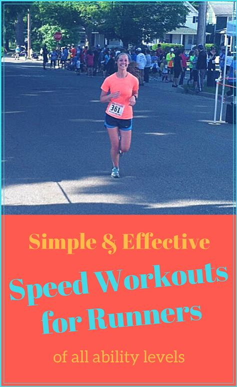 Speed-Workouts-for-Runners | Runnin' for Sweets