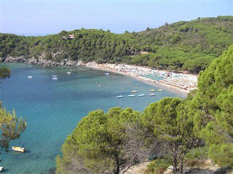 Spiaggia, Fetovaia, Campo nell'Elba, Isola d'Elba, Livorno ...