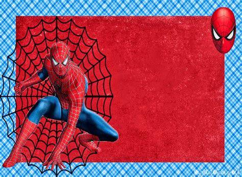 Spiderman: Invitaciones para Imprimir Gratis. - Visit to ...
