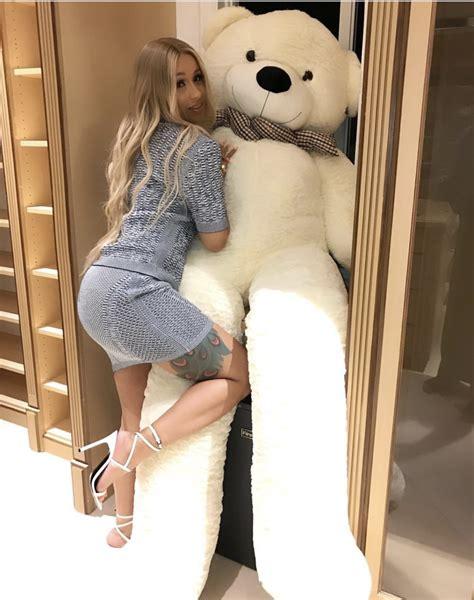 Splurge: Cardi B's Instagram Teddy Bear Balmain Gray Tweed ...