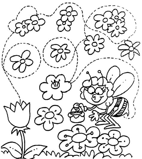 Spring Coloring Pages Printable | Coloring Ville