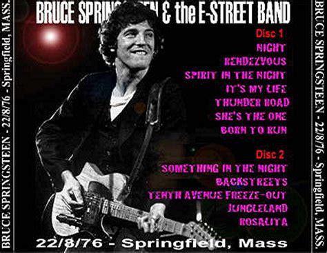 Springfield 22.08.1976   Springsteen Bootleg ...