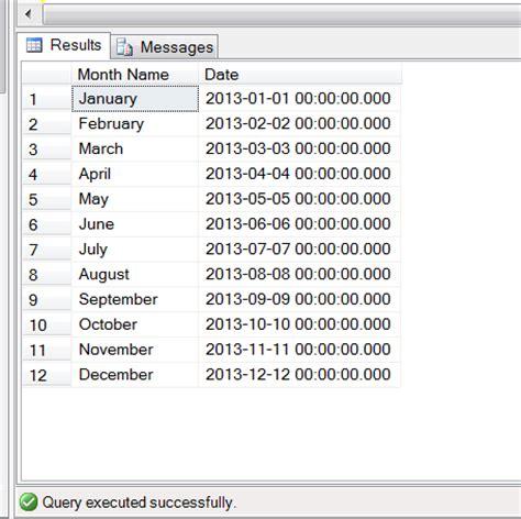 SQL SERVER – How to sort month names in month order ...
