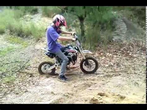 Ssr 150 pit bike messing around - YouTube
