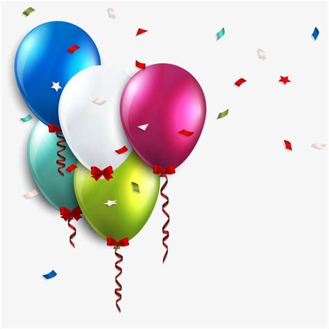 عيد ميلاد بالونات, عيد ميلاد بالونات, البالونات الملونة ...