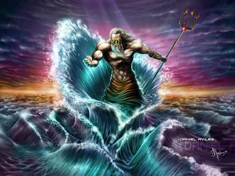 الاله زيوس يرسل الطوفان في الاسطورة اليونانية