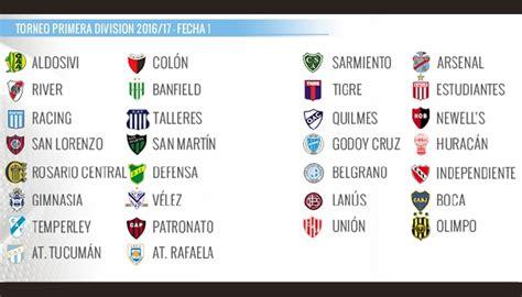 تقديم| الدوري الارجنتيني Primera División 2016/2017