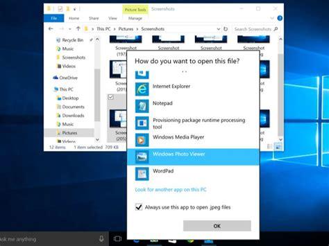 كيفية إسترجاع Windows Photo Viewer لعرض الصور في ويندوز 10