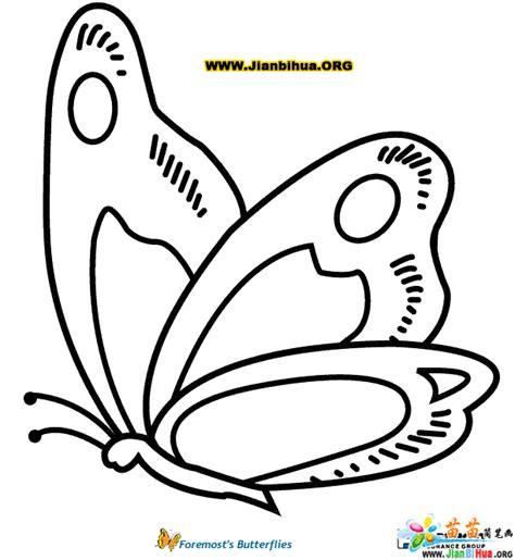 蝴蝶简笔画图片作品(10张)(第3张)