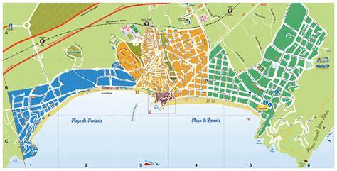 Stadtplan von Benidorm | Detaillierte gedruckte Karten von ...