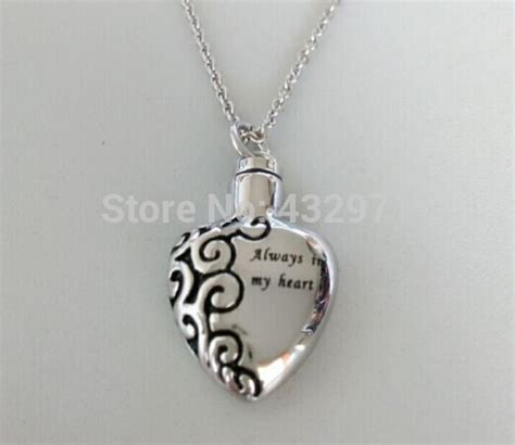 Stainless-steel-silver-cremation-pendant-jewelry-for-ashes ...