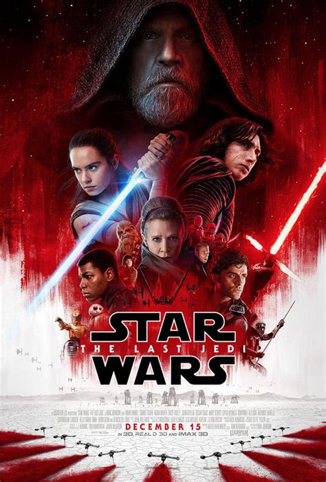 Star Wars 8   NEW POSTER released ahead of Last Jedi ...