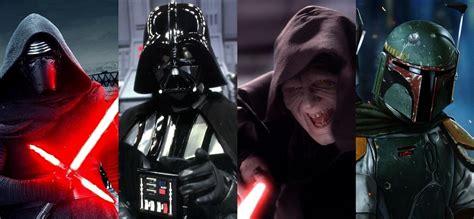 Star Wars: De Darth Vader a Kylo Ren: Los 10 grandes ...