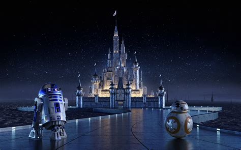 Star Wars   Disney Castle Concept on Behance