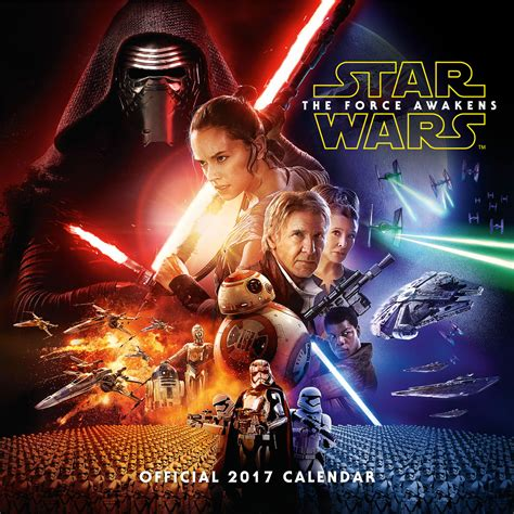 Star Wars: Episode 7   Calendars 2018 on EuroPosters