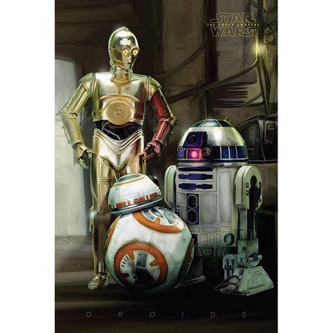 Star Wars Episode VII Droids Maxi Poster | This Stuff Online