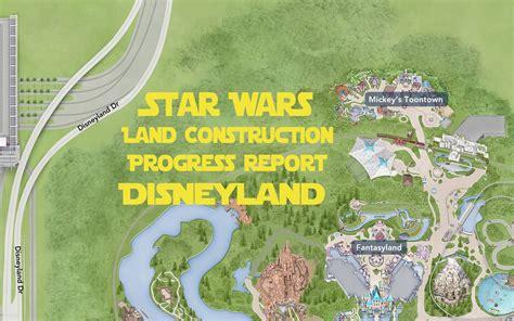 Star Wars Land Summer 2016 Construction Progress   Disney ...