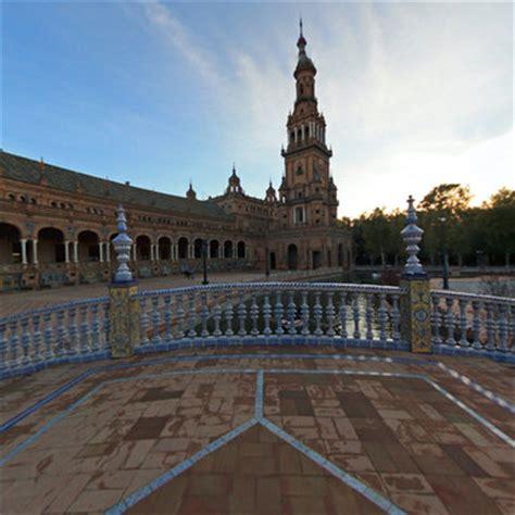 Star wars location in , Plaza de España Seville Spain