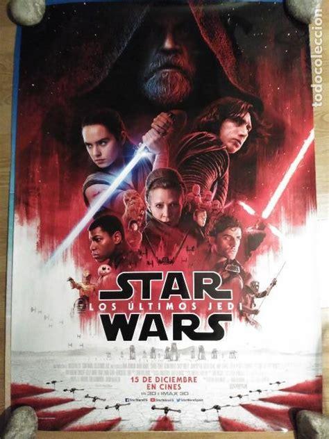 star wars, los últimos jedi   aprox 70x100 cart   Comprar ...